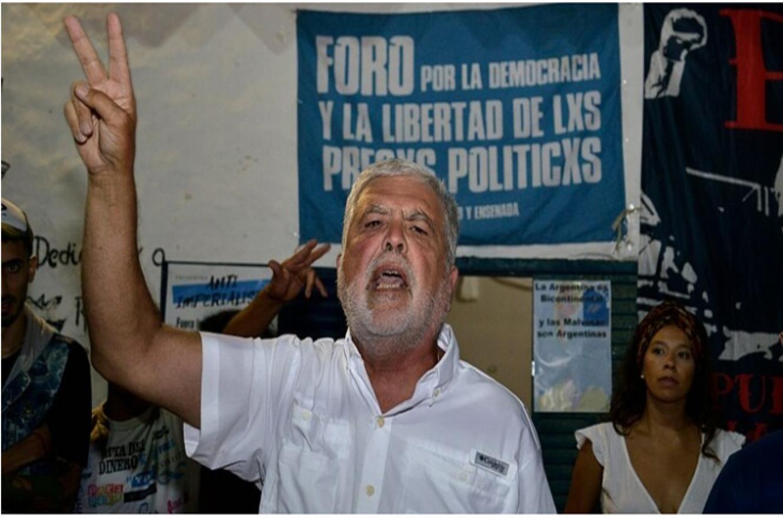 Julio De Vido acto politico en La Plata.