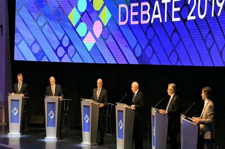 Debate presidencial.