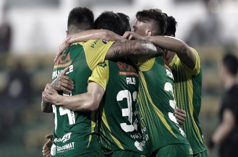 Defensa y Justicia venció a Olimpia y mantiene la ilusión en la Copa Libertadores