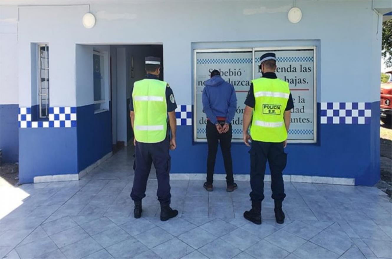Detuvieron en Autovía 14 a un joven que tenía pedido de captura