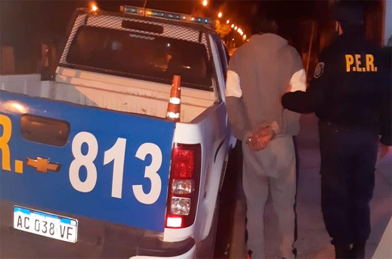 detenido por atacar a su pareja