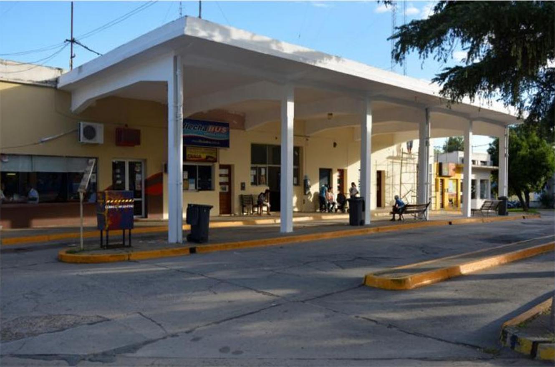 Imagen de archivo de la terminal de ómnibus de Diamante.
