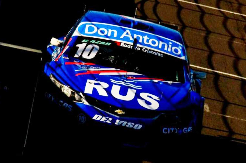 Diego Azar marcó el ritmo del ensayo del Top Race V6 en Concepción del Uruguay