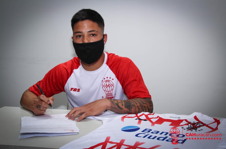 Fútbol: Diego Mercado firmó con Huracán, uno de los rivales de Patronato