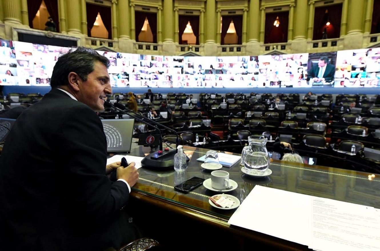 Diputados aprobó y giró al Senado el proyecto de teletrabajo