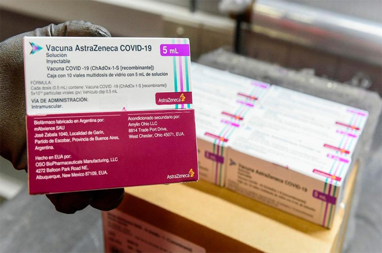 El principio activo de estas dosis fue producido en la Argentina y envasado en México.