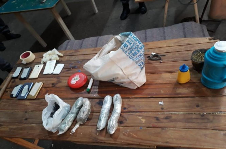 droga incautada en la cárcel de Paraná