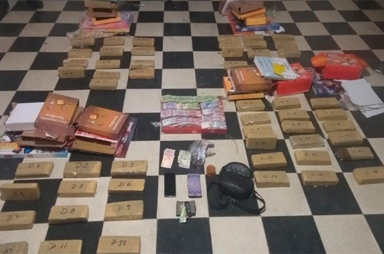 secuestro de droga en Concordia