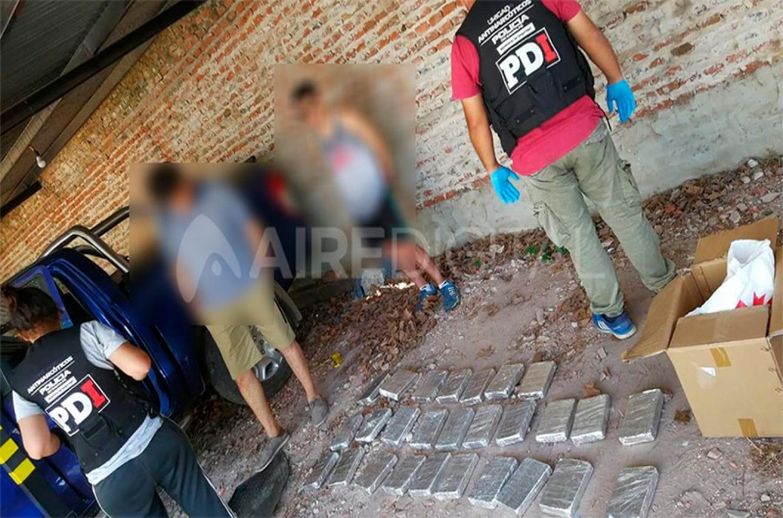 secuestro droga Santa Fe
