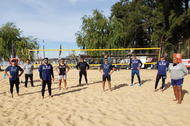Beach Volley: con entrerrianos, la selección argentina entrena para su objetivo olímpico