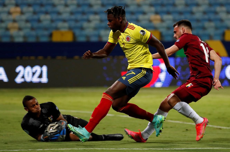 Copa América: Colombia y Venezuela igualaron sin goles en el comienzo de la segunda fecha