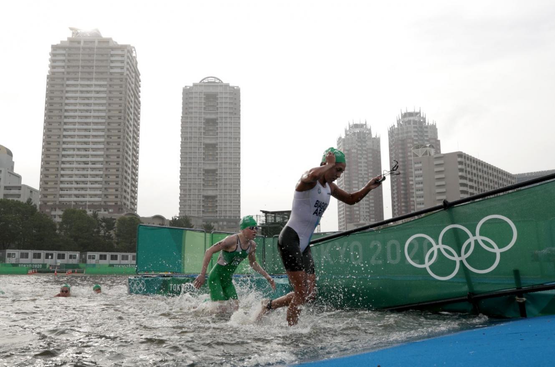 Romina Biagioli completó la prueba del triatlón femenino en el 33er lugar en Tokio 2020