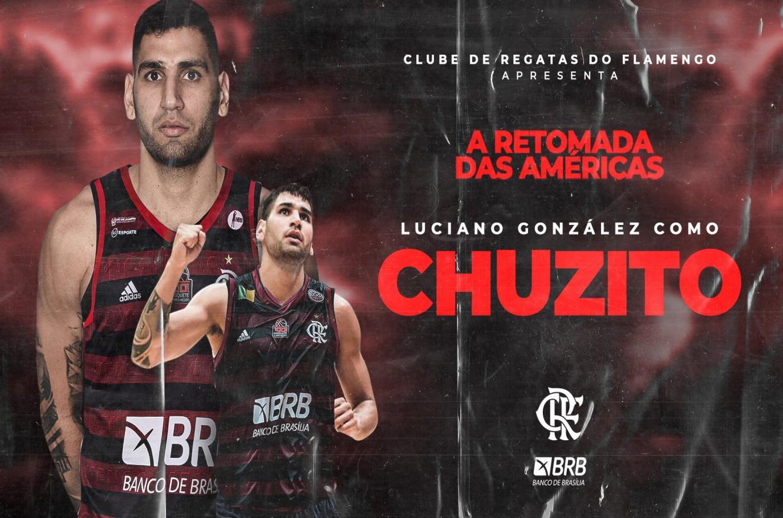 "Flamengo confirmó la llegada del paranaense Luciano ""Chuzito"" González"
