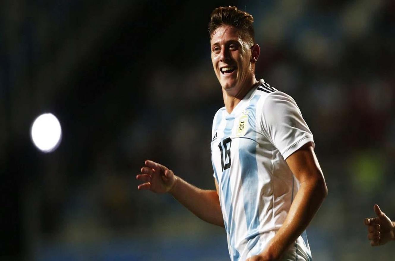 Fútbol: la selección argentina sub 23 logró una goleada histórica ante Islas Canarias