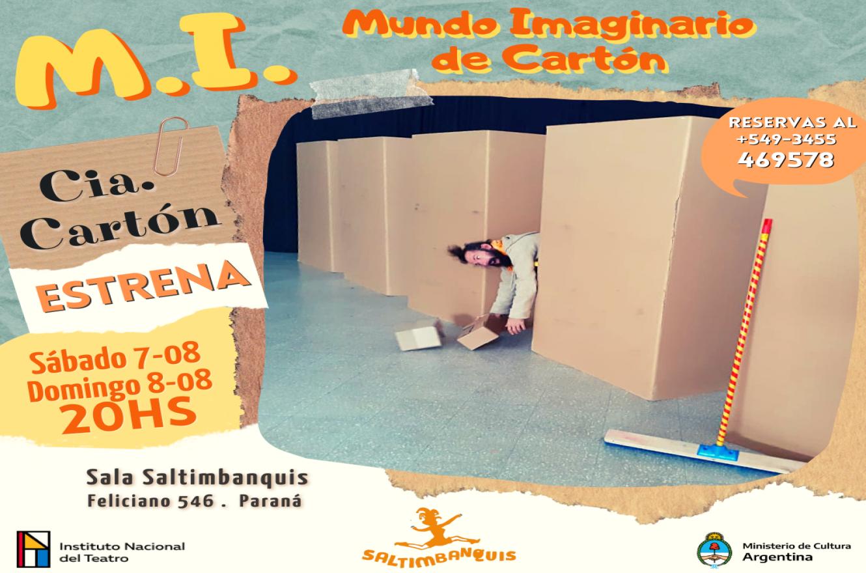 """""""M.I. Mundo Imaginario de cartón"""""""