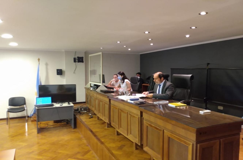 Raúl Flores audiencia conciliación Etchevehere