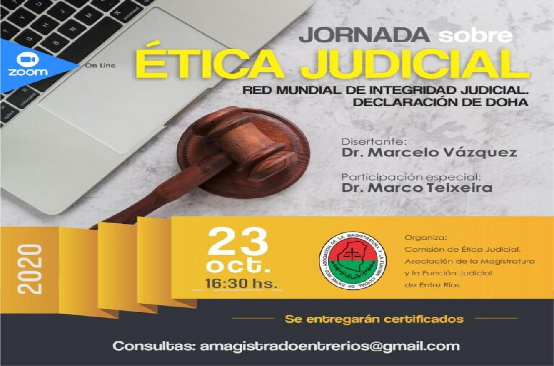 Jornada sobre ética judicial