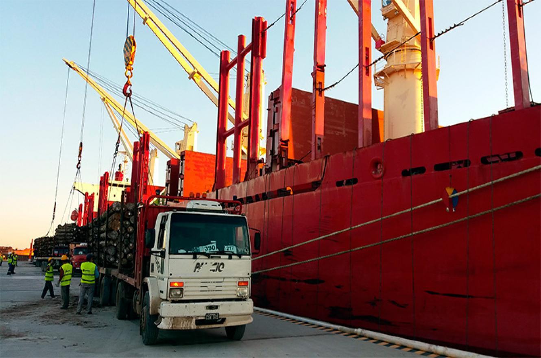 exportaciones puerto