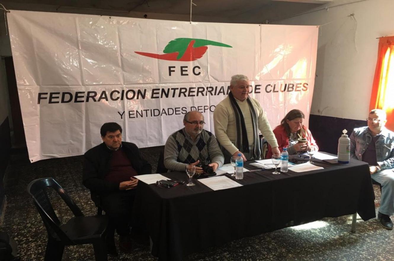 Hugo Grassi seguirá conduciendo la Federación Entrerriana de Clubes y Entidades Deportivas