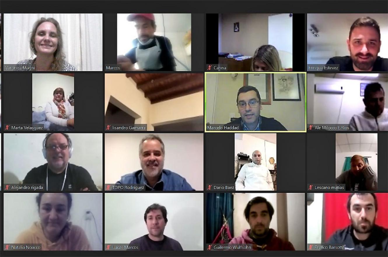 El plenario virtual de Consenso Federal.