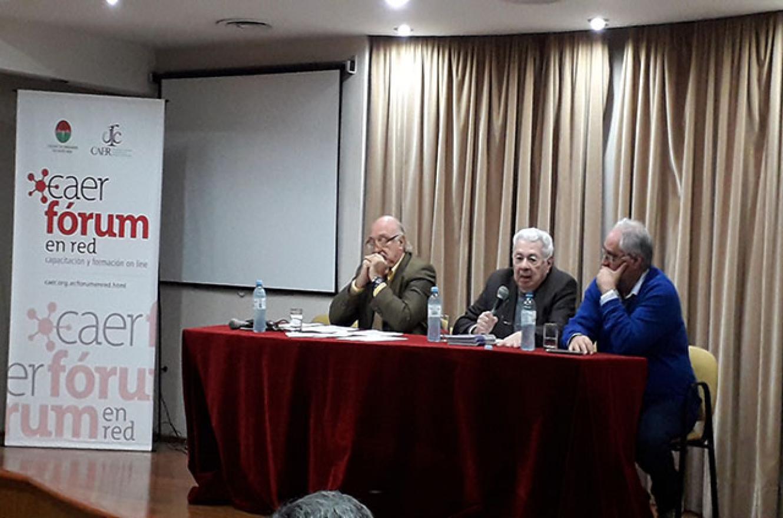 Julio Federik, Marciano Martínez y Miguel Ángel Cullen