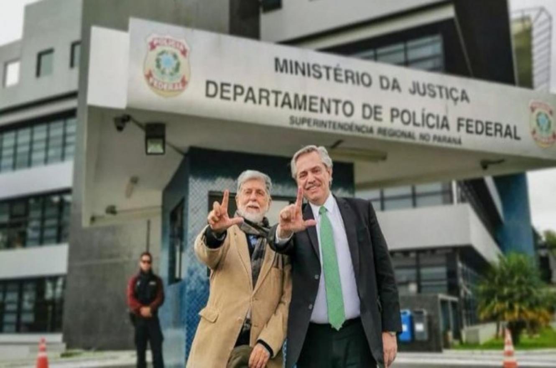Fernández en Brasil