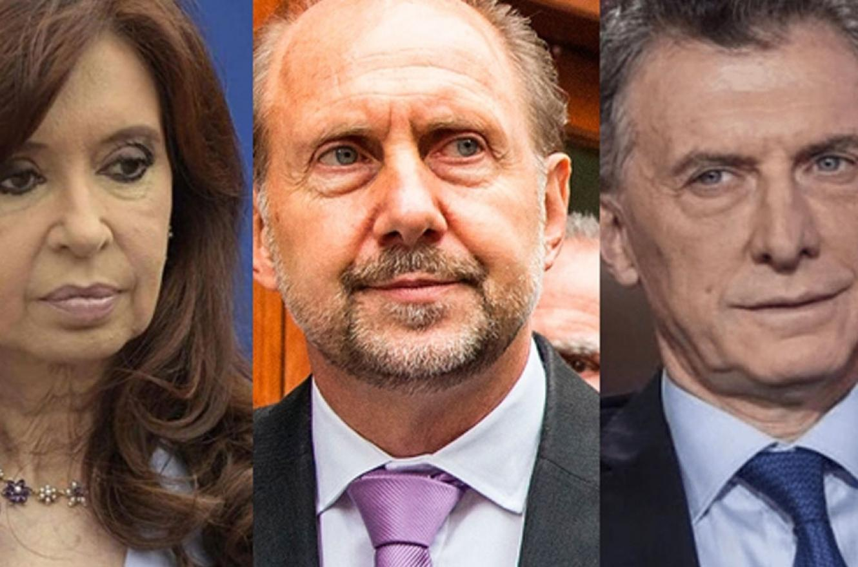 Fernández, Perotti y Macri