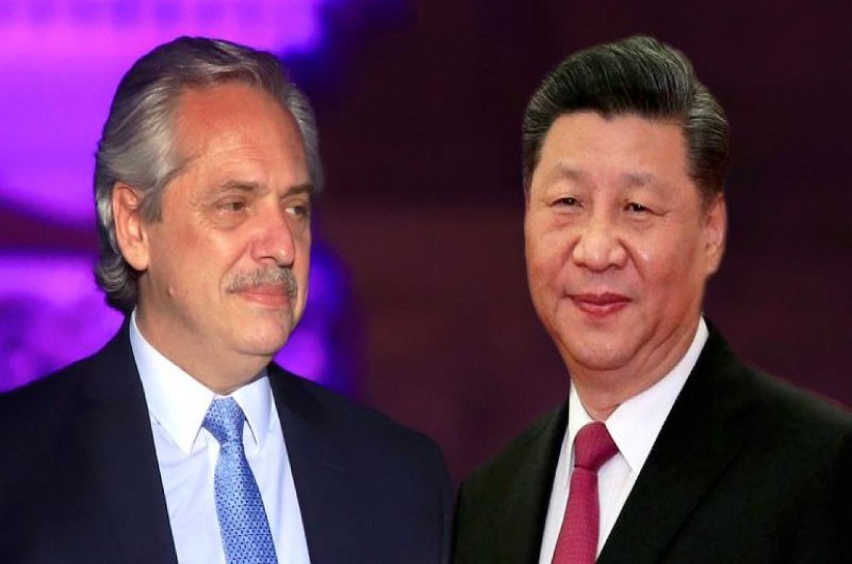 Alberto Fernández-Xi Jinping