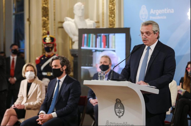 Fernández al anunciar la reforma judicial