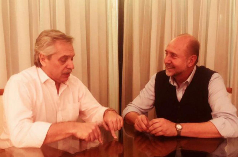 Fernández con Perotti