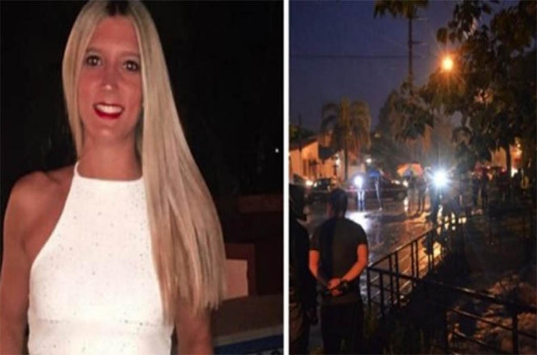 La joven Fiorella Furlán conducía su automóvil por calle Gálvez, cuando fue arrastrada por la corriente en momento en que cruzaba el puente sobre el arroyo Antoñico, a metros de la intersección con avenida Ramírez, de la capital provincial.