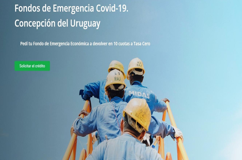 créditos del Fondo de Emergencia Económica Concepción del Uruguay