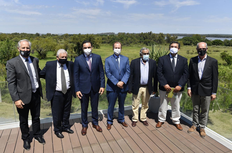 Bordet expresó el apoyo al proyecto del nuevo puente con Uruguay