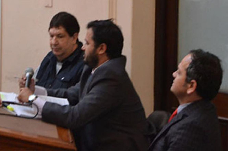 Escobar Gaviria durante el juicio