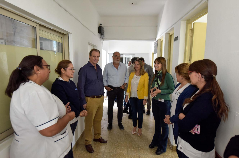 Bordet recorrió el hospital San Martín