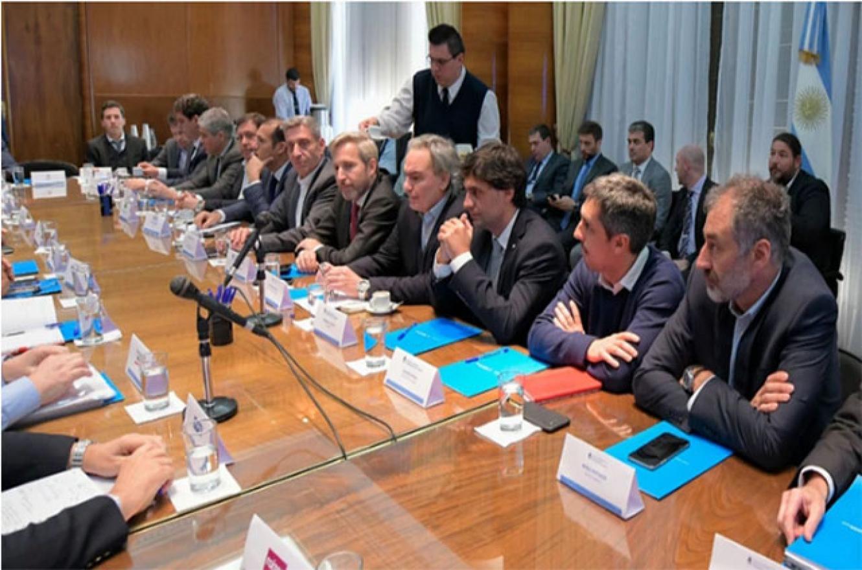 gobernadores en Casa Rosada