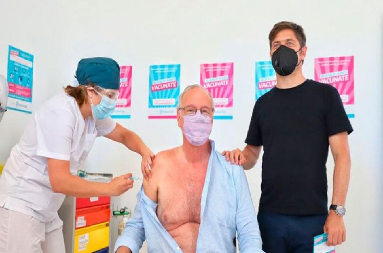 Daniel Gollán vacuna rusa con Kicillof