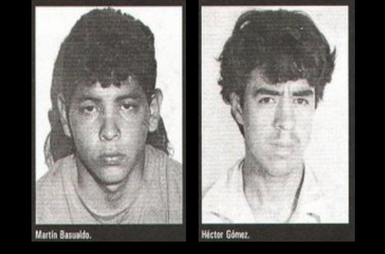 Martín Basualdo y Héctor Gómez