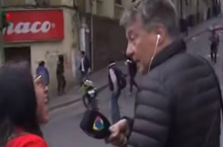 Rolando Graña agredido en Bolivia