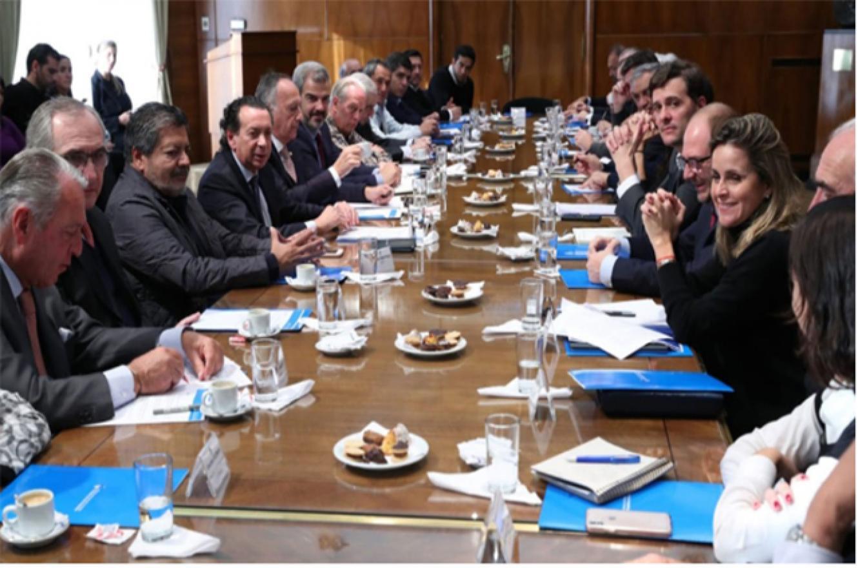 Sindicalistas transmitieron al gobierno sus dudas por el acuerdo Mercosur-Unión Europea
