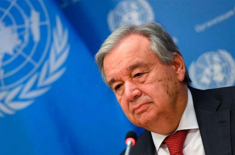"""El secretario general de la ONU, António Guterres, demandó a la comunidad internacional """"una gran solidaridad"""", que incluya medidas de alivio de la deuda pública."""