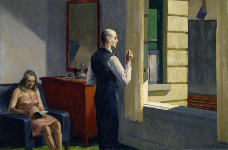 """""""Edward Hopper y el lienzo blanco"""""""