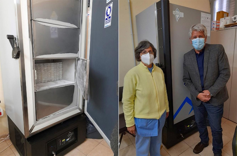 La secretaria de Salud de la provincia hizo entrega de ultrafreezers verticales a los hospitales Centenario (Gualeguaychú) y Justo José de Urquiza (Concepción del Uruguay).