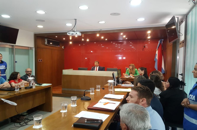 audiencia judicial conflicto Municipalidad de Paraná (Foto: ANALISIS)