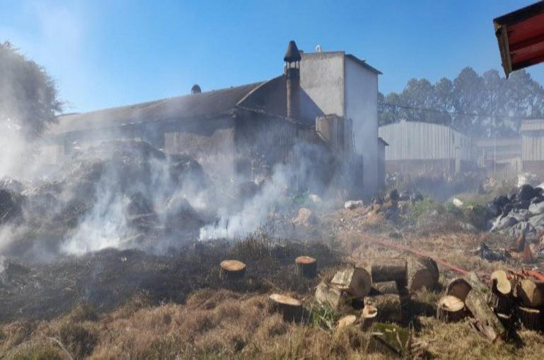 incendio Parque Industrial