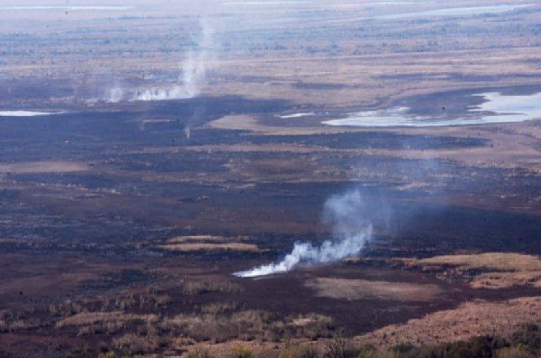 tierra quemada Delta