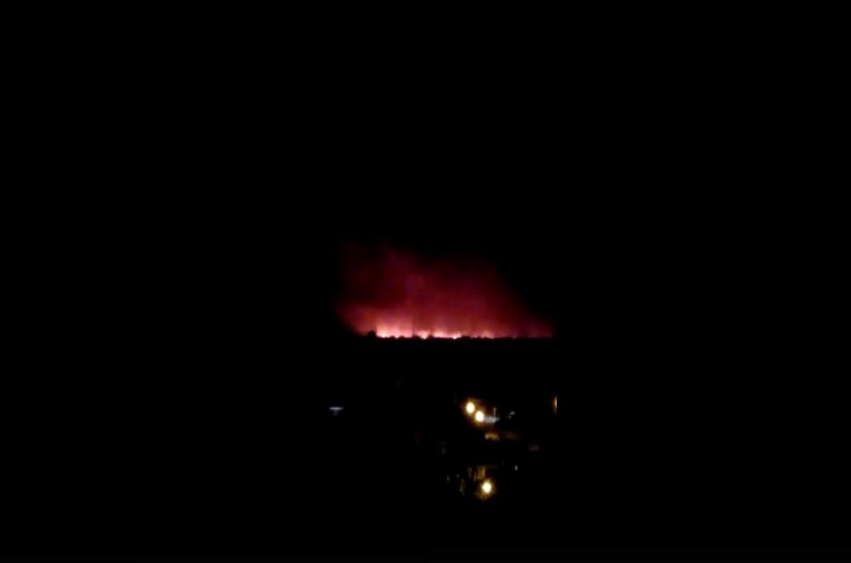 Por un incendio en la zona de islas frente a Santa Fe se registra humo en Paraná
