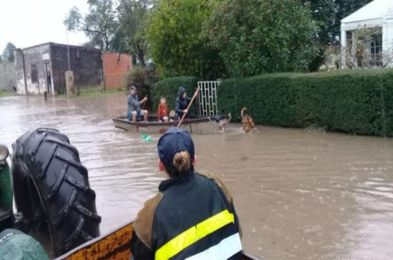 Inundación Rosario del Tala