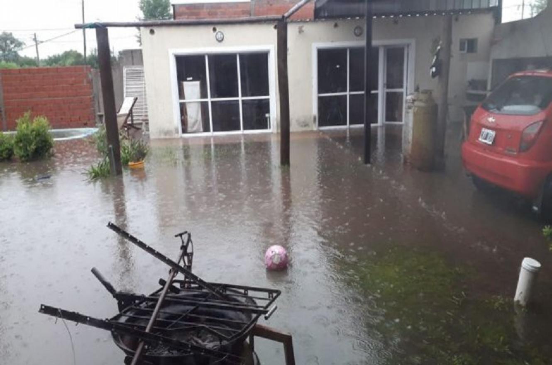 Casas inundadas