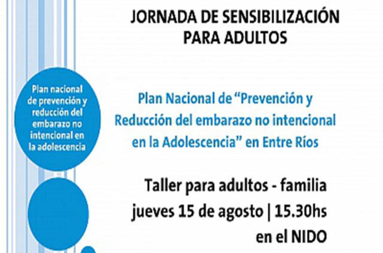 Jornadas de sensibilización sobre Prevención del Embarazo en la Adolescencia